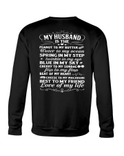 Love Of My Husband Crewneck Sweatshirt thumbnail