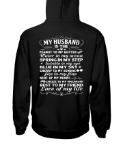Love Of My Husband Hooded Sweatshirt thumbnail