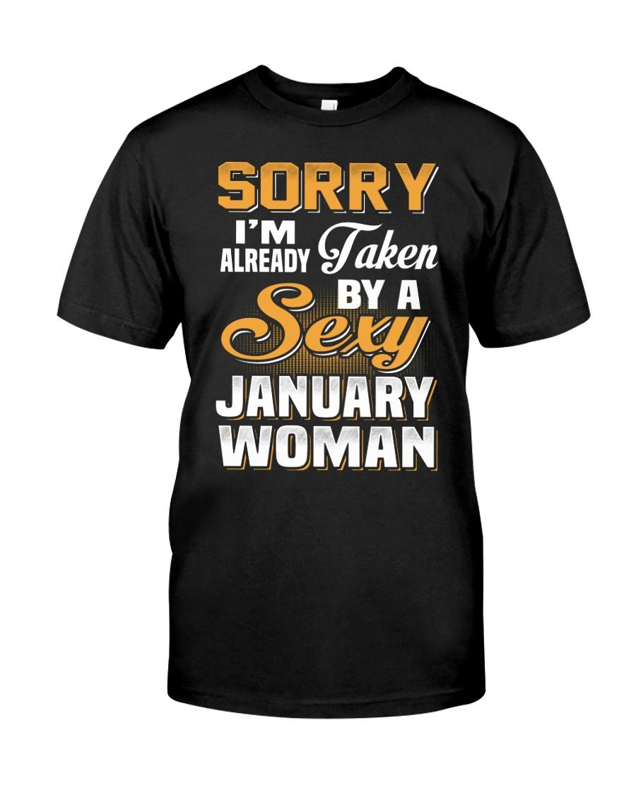 Sexy January Woman Classic T-Shirt