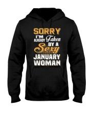 Sexy January Woman Hooded Sweatshirt thumbnail
