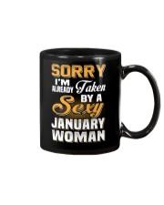Sexy January Woman Mug thumbnail