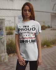 I'M PROUD MOTHER-IN-LAW Classic T-Shirt apparel-classic-tshirt-lifestyle-18