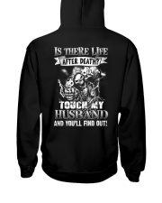 Don't Touch My Husband Hooded Sweatshirt thumbnail