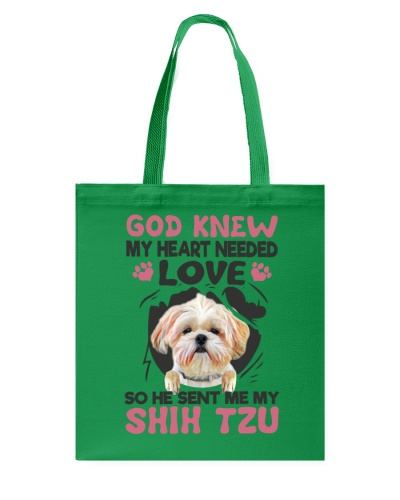 GOD SENT ME MY SHIH TZU
