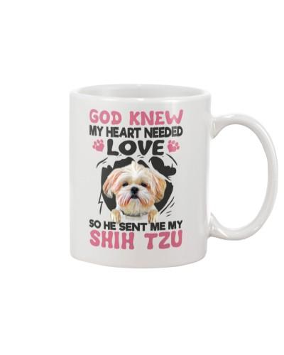 GOD SENT ME MY SHIH TZU
