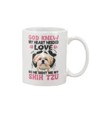 GOD SENT ME MY SHIH TZU Mug tile