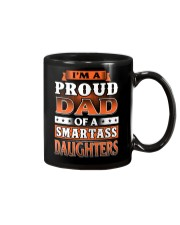 Proud Dad Of A Smartass Daughters Mug thumbnail