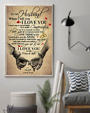 I LOVE YOU - LOVELY GIFT FOR HUSBAND 11x17 Poster lifestyle-poster-1