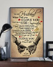 I LOVE YOU - LOVELY GIFT FOR HUSBAND 11x17 Poster lifestyle-poster-2