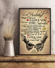 I LOVE YOU - LOVELY GIFT FOR HUSBAND 11x17 Poster lifestyle-poster-3