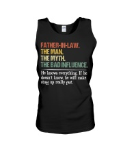 HE KNOWS EVERYTHING Unisex Tank thumbnail