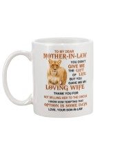 THE GIFT OF LIFE - GREAT GIFT FOR MOTHER-IN-LAW Mug back