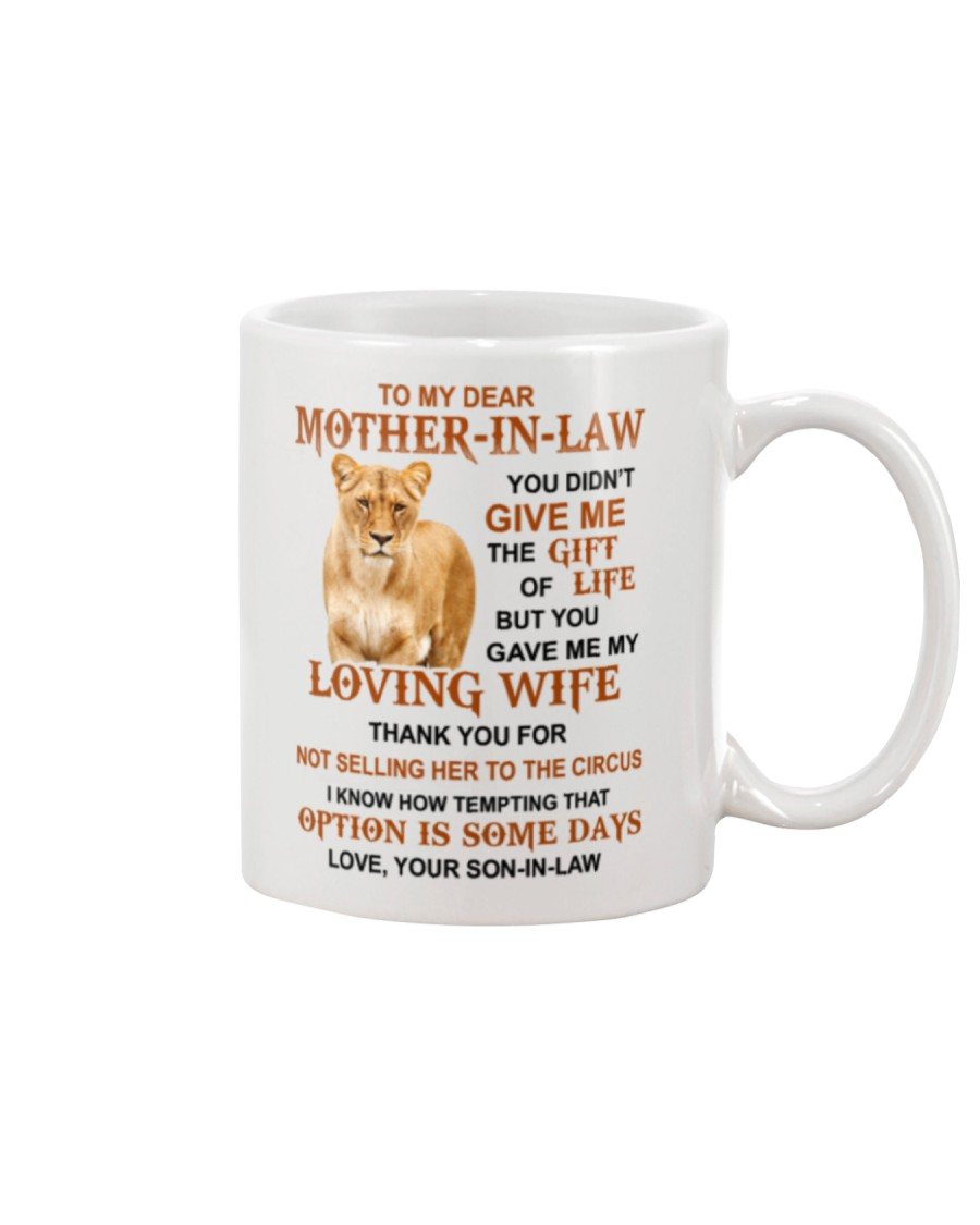 THE GIFT OF LIFE - GREAT GIFT FOR MOTHER-IN-LAW Mug
