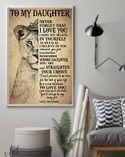 I LOVE YOU - TO MOM FROM DAUGHTER 11x17 Poster lifestyle-poster-1