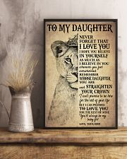 I LOVE YOU - TO MOM FROM DAUGHTER 11x17 Poster lifestyle-poster-3