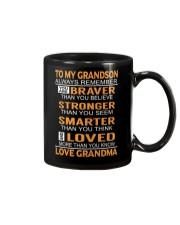 To My Grandson Always Remember Mug front