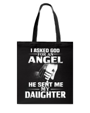 God Sent Me A Daughter Tote Bag thumbnail