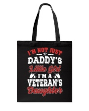 Veteran's Daughter Tote Bag thumbnail