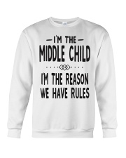 I'm The Middle Child Crewneck Sweatshirt thumbnail