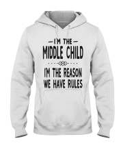 I'm The Middle Child Hooded Sweatshirt thumbnail