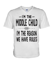 I'm The Middle Child V-Neck T-Shirt thumbnail
