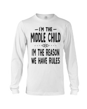 I'm The Middle Child Long Sleeve Tee thumbnail