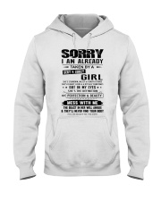 I AM ALREADY TAKEN BY A SEXY AND CRAZY GIRL Hooded Sweatshirt thumbnail