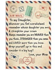 A BIG HUG - BEST GIFT FOR DAUGHTER FROM MOM 11x17 Poster thumbnail