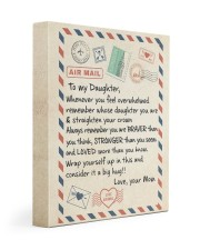 A BIG HUG - BEST GIFT FOR DAUGHTER FROM MOM 11x14 Gallery Wrapped Canvas Prints thumbnail
