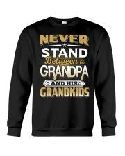 Between Grandpa And Grandkids Crewneck Sweatshirt thumbnail