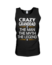 Crazy Granddad Unisex Tank thumbnail