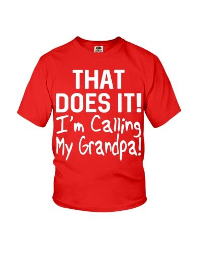 Calling Grandpa