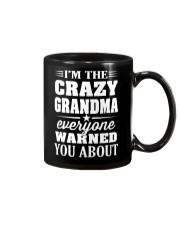Crazy Grandma Everyone Warned Mug thumbnail