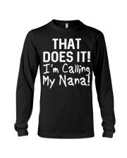 Calling Nana Long Sleeve Tee thumbnail