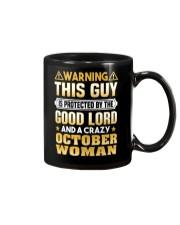 October Woman Protect This Guy Mug thumbnail