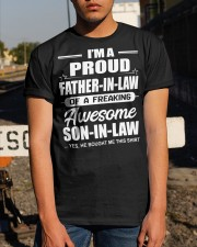 I'M A PROUD FATHER-IN-LAW Classic T-Shirt apparel-classic-tshirt-lifestyle-29