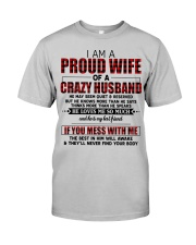 HE LOVES ME SO MUCH - LOVELY MESSAGE GIFT FOR WIFE Classic T-Shirt thumbnail