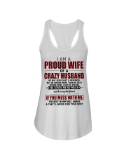 HE LOVES ME SO MUCH - LOVELY MESSAGE GIFT FOR WIFE Ladies Flowy Tank thumbnail