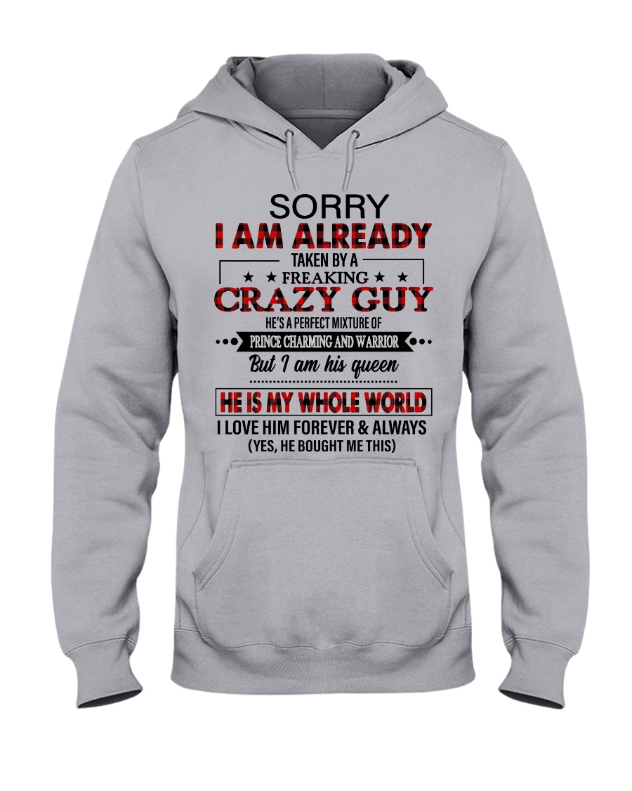 HE IS MY WHOLE WORLD Hooded Sweatshirt