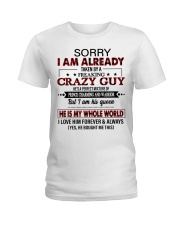 HE IS MY WHOLE WORLD Ladies T-Shirt thumbnail