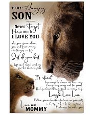 I LOVE YOU - BEST GIFT FOR SON FROM MOMMY 11x17 Poster front