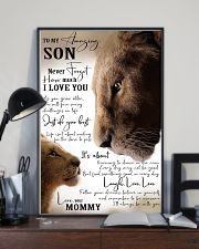 I LOVE YOU - BEST GIFT FOR SON FROM MOMMY 11x17 Poster lifestyle-poster-2