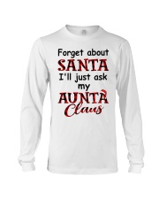 WONDERFUL GIFT FROM AUNT TO NIECE Long Sleeve Tee thumbnail