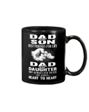 DAD AND SON - DAD AND DAUGHTER Mug tile