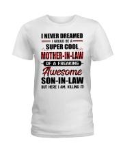 I NEVER DREAMED Ladies T-Shirt thumbnail
