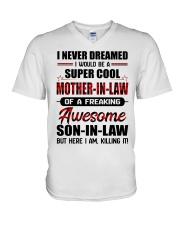 I NEVER DREAMED V-Neck T-Shirt thumbnail