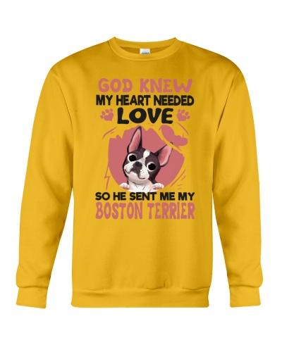 GOD SENT ME MY BOSTON TERRIER