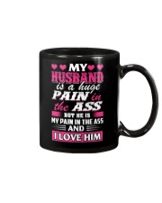 Husband Is My Pain Mug thumbnail