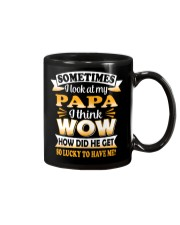 How Did Papa Get So Lucky Mug thumbnail