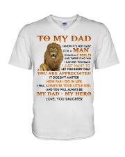HOW FAR I GO IN LIFE V-Neck T-Shirt thumbnail